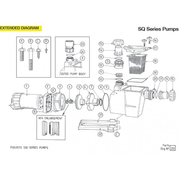 pentair pump replacement parts