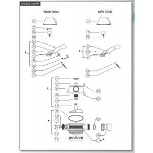 Spare Parts for MPV 2000 & Smart Valve